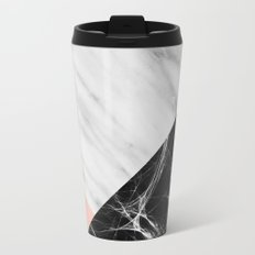 Marble Collage Metal Travel Mug
