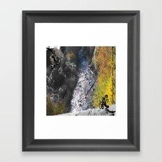 PAYSON RIVER Framed Art Print