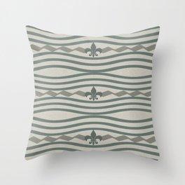 Corduroy Pattern Lines Throw Pillow