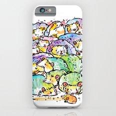 Hedgehog family iPhone 6s Slim Case