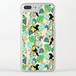 Toucan Island Clear iPhone Case