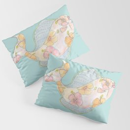 tropical watercolor fish Pillow Sham