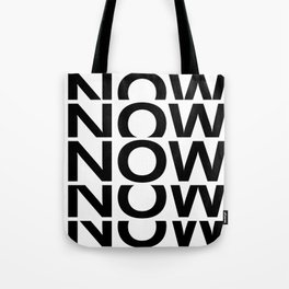 NOW - reverse Tote Bag