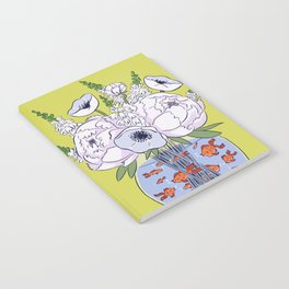 Goldfish Flowers Notebook