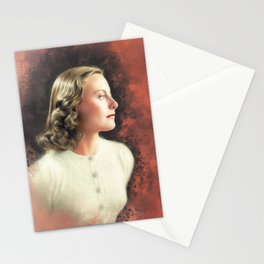 Michele Morgan, Vintage Actress Stationery Cards