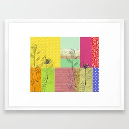 hello new day Framed Art Print