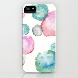 Mary Lou circles iPhone Case