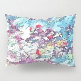 Garden of Colors Pillow Sham