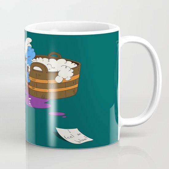 SUICIDAL SMURF  Coffee Mug