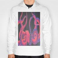 kraken Hoodies featuring Kustom Kraken by AriesArtNW.com