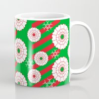 dentist Mugs featuring Pearly and White Dentist Holiday Mug by Hold The Cheese