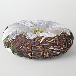 Enchanted Flower Floor Pillow