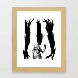 Gon Transformation HunterXHunter Framed Art Print