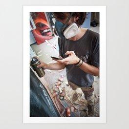 Matt Adnate, Berlin 2011 Art Print