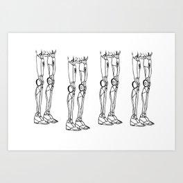 Legs I Art Print