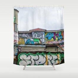 Urban Assault Shower Curtain
