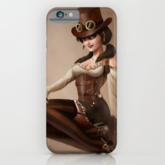 Steampunk pin-up girl iPhone 6s Slim Case