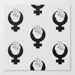 Solidarity Sister Print Canvas Print