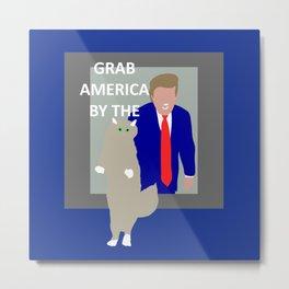 Grab America by the... Metal Print