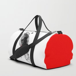 crow_inside Duffle Bag
