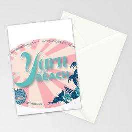 Yarn on the Beach Stationery Cards