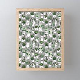 Face Vase Framed Mini Art Print