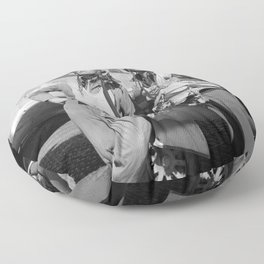 Tuskegee Airmen -- World War II Floor Pillow