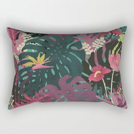 Tropical Tendencies Rectangular Pillow
