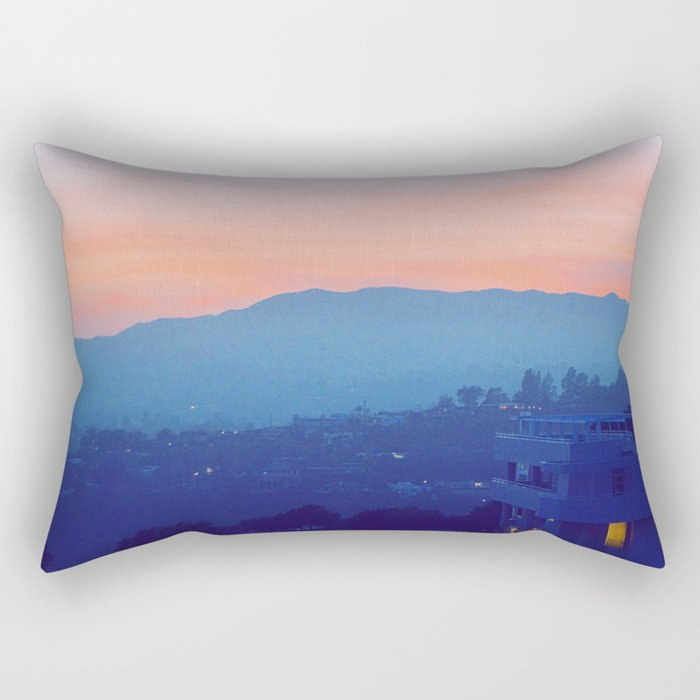 Complementary Twilight Rectangular Pillow