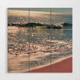 Sparkle Morning Sea Wood Wall Art