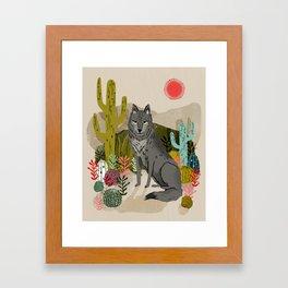 Wolf by Andrea Lauren  Framed Art Print