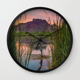 Pastel Evening Wall Clock
