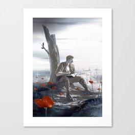 Flanders Fields Canvas Print