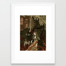 Nightmares of the Alchemist's Wife Framed Art Print