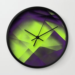 Purple Color Package Wall Clock