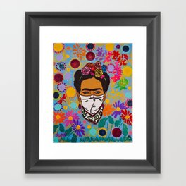 Viva La Frida! Framed Art Print