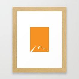 Pyramids of Egypt Framed Art Print
