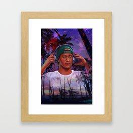 Kygo Framed Art Print