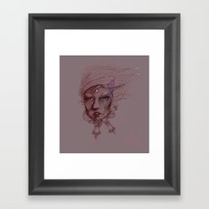 Pearl and Prism Framed Art Print