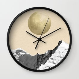 Mountain 11 Wall Clock