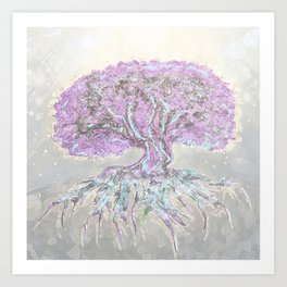 Tree of Life Lightness of Air Art Print