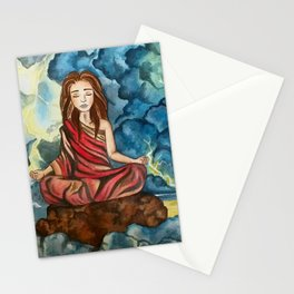 pace nella tempesta Stationery Cards