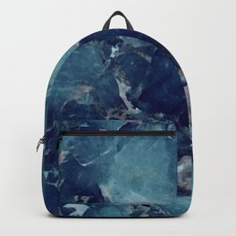 Blue Marble Texture Backpack