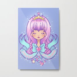 Pastel Princess V2 Metal Print