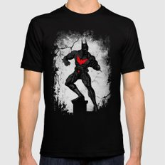 Beyond the dark night Mens Fitted Tee Black SMALL