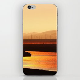 River on Fire iPhone Skin