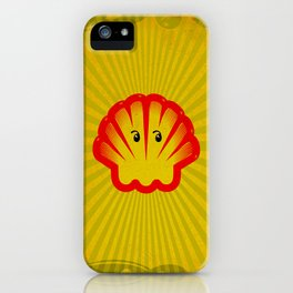 Look! There is a Ghost  in the Shell! iPhone Case