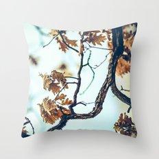 Autumn Branches Throw Pillow