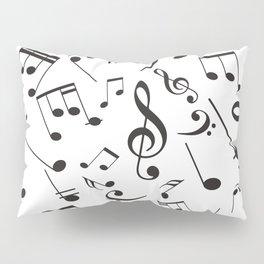 Musical Notes 19 Pillow Sham