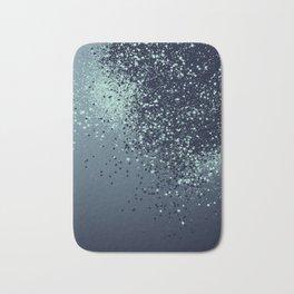 Sparkling Blue Summer Night Lady Glitter #1 #shiny #decor #art #society6 Bath Mat